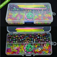 Wholesale Alphabet Beads S Clips C Clips Charms Hook Box Kit For Rainbow Loom Rubber Bands