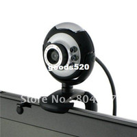 Wholesale and Retail New USB M LED Webcam Camera Web Cam With Mic for Desktop PC Laptop