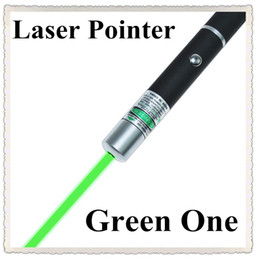 Wholesale Free DHL new mW nm GREEN Light Beam Laser Pointer Pen good SOS Mounting Night Hunting Teaching Lights Pointers ppt Without Package