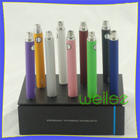 Cheap EGO EVOD Variable Voltage Battery for ego t electronic cigarette atomizer clearomizer vaporizer e-cig Battery DHL Free FS016