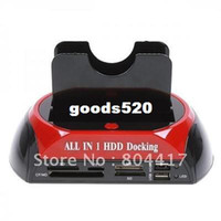 Wholesale New USB quot quot IDE SATA HDD Dual Docking Station HUB