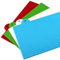 Wholesale Multi Cooking Plastic Colorful Chopping Board Set Cut Foldable Blocks kitchenware set