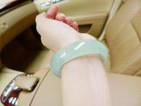 Wholesale High quality Grade A Natural Burmese Jade Bracelets Womens Bangles Bracelet Jade Bangles