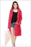 Wholesale Korean version of the ultra thin quick drying adult adult fashion windbreaker raincoat import Emergency clothing fabrics