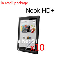 Cheap New Clear LCD Screen Protector Films Protective Film Guards For Barnes&Noble B&N Nook HD+ 9' Tablet +Free Drop shipping