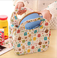 Wholesale Cartoon Bags Practical Multi function Large Size Waterproof Thermal Insulation Bags Lunch Bag Best Gift C1291
