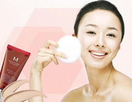 Wholesale Korea Authentic BB Cream Perfect Cover NO NO SPF Blemish Balm Cream Age control Liquid Foundation Make Up Perfect Skin Tone