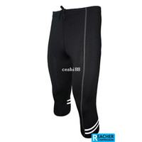 Wholesale 2013 mens compression tights tight base layer skins running run Fitness Excercise cycling Clothing pants gear