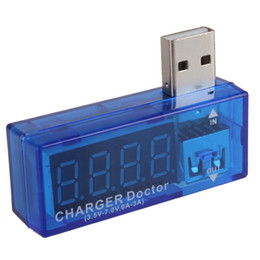 Wholesale Digital Display Hot USB Power Portable Mini Current Voltage Tester Detector EGS_068