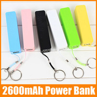 Wholesale Sweet Smell Power Bank Charger mAh External Portable Battery color Mobile Power Bank charger with retail box lup