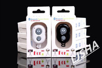 Wholesale Bluetooth Remote Camera Control Self timer Shutter for iPhone S C S for Galaxy S5 S4 Note Smartphones and Tablet