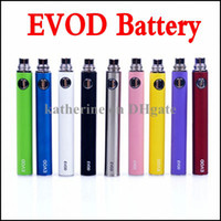 Wholesale eGo E Cigarette EVOD Battery mah mah mah EVOD Battery for MT3 CE4 CE5 CE6 Electronic Cigarette E cig Kit Colorful Battery Instock