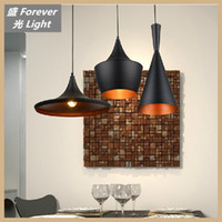 Wholesale E27 W pendant lamp Design by Tom Dixon model bar lighting Black White Aluminum Pendant Lamp Chandelier