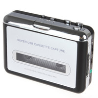 Wholesale Portable USB Cassette Player Capture Cassette Converter Tape recorder Auto Reverse Stereo Hi Fi Mega Bass EGS_033