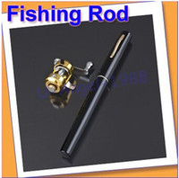 rod and reel - look New Black Fishing Tackle Pen Rod Pole and Reel Combos