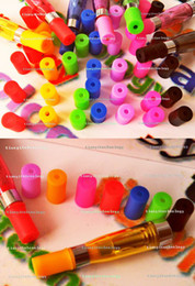 Wholesale Colored Ego Rubber Disposable Caps Soft Condoms Hole Drip Test Tips For E Cigarette Human Skeleton Skull Drip Tips
