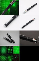 Wholesale Free DHL in1 in Star Cap Pattern nm mw Green Laser Pointer Pen With Star Head Laser Kaleidoscope Light good