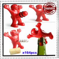 Wholesale Creative Bar Kitchen wine tool Sex Censorship Happy Man Corkscrew Bottle Stopper Bottle Opener