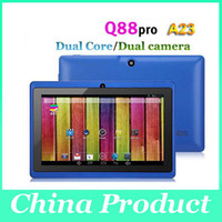 Wholesale 7 Inch Allwinner A23 Android Tablet PC Android Dual Core Dual Camera MB GB WIFI Android Tablets PC