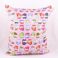 Wholesale 2014 hot sale Diaper Two Zipper Wet bag in large size CM