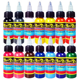 Wholesale Top Quality Solong Tattoo Ink Pigment Set OZ ml Color Supply for Tattoo Machine Gun Kit