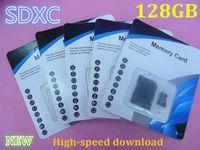 Tarjeta de memoria Micro SD TF de 256 GB de 128 GB Tarjeta de memoria Class 10 C10 de 128 GB Tarjetas de memoria TF de clase 10 con adaptador de tarjeta SD gratis Paquete minorista 03