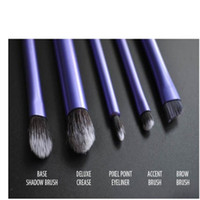 Wholesale Professional Real technique Purple Set your eyes enhanced Starter Set Aluminum pole Blush brush Makeup Cosmetic Brush