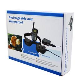 Recarregável e impermeável Remote Dog Training Collar 998DR 1 colar com tela LCD 100 nível Choque e vibração