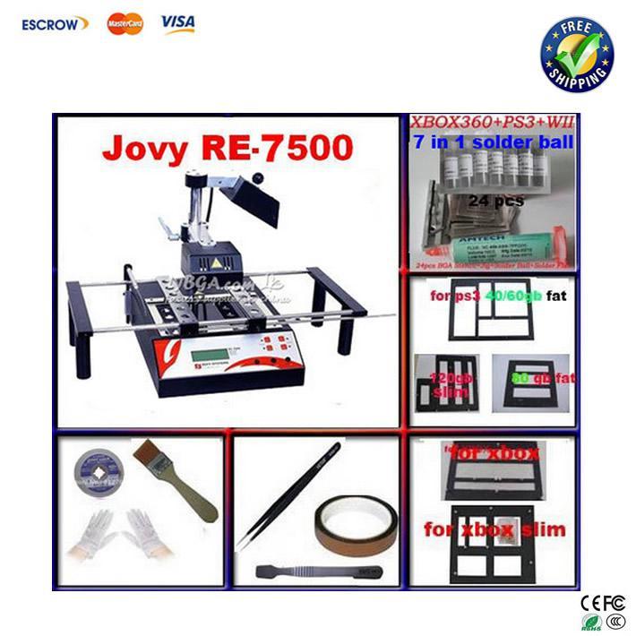 Rework Station Jovy re 7500 Jovy System Bga Rework Station Jovy Re7500 Infrared Bga Repair Machine Bga
