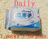Wholesale Winalite Lovemoon Qiray Anion Sanitary napkin Sanitary towels pads panty liners Day Use sanitary napkins packs pieces