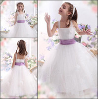 Reference Images Girl Bow 2014 Classic White Cheap Halter Flower Girls