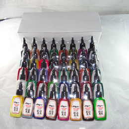 Wholesale New High Quality Tattoo Ink Colors in one set Supply set