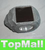 IP68 Garden  JJ622*NEW hot Lastest 30pcs new design fashion garden light Solar Stone Rock Spot Led Light