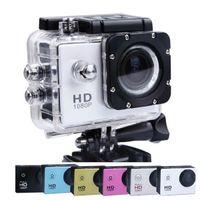 Wholesale 5pcs Hot Waterproof Sport DV Camera SJ4000 HD DV Novatek P fps H Inch Degree Outdoor Security HD DV CAR DVR HDMI