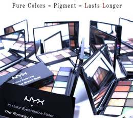Wholesale 100 Original American NY Cosmetics Makeup Eye Shadow color styles Portable Waterproof Long lasting Eyeshadows US Makeup Drop Shipping