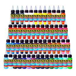 Wholesale Professional Tattoo Ink Solong Tattoo Colors Set ml Bottle Tattoo Pigment KitTI301