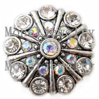 Other african metal bracelet - D00221 mm metal cheap button snap for noosa chunk jewelry for women bracelet