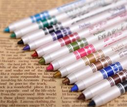 Wholesale New set Professional Makeup Eyeliner Pencil colors Water Proof Long Lasting Natural Eye liner Pen Cosmetic Kits cosmetics pencils