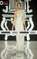 Floor-Length abed mahfouz wedding dresses - New arrival abed mahfouz evening dress tantalising luxury wedding dress formal dress prom dress custom Pageant Dresses
