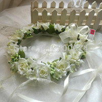 Wholesale Promotional Artificial Decorative Flowers amp Head Wreaths Garland For Wedding Prom Party and Christmas Decoration Retail