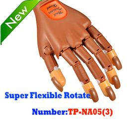 Wholesale BeautyGaGa Professional Supply New Super Flexible Rotate like Human Fingers Personal Salon Trainer Practice Hand Nail Training