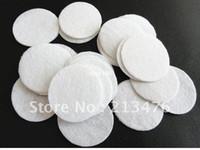 Wholesale 1000pcs Felt mm Circle Appliques White