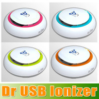 Wholesale Dr USB Ionizer Colors Available Dr USB Air Purifier Ionizer removing odours smoke dust and pollen DHL Free churchill