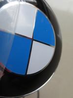 bmw logo - 20pcs Standard mm mm front rear badge hood trunk bonnet logo car emblem blue white black white E46 E39 E38 E90 E60