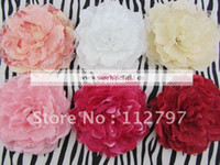 Wedding large silk flowers - Trial order quot Large Laced Peony Flowers Head Silk Peony Flowers FLat Back By Sunshinefield
