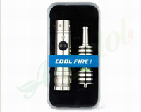 Wholesale 100 original innokin cool fire mod variable wattage e cig innokin cool fire I starter kit with iclear vaporizer