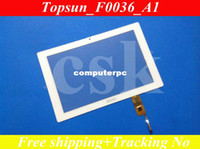 archos pc tablet - Ref Topsun_F0036_A1 quot inch Archos LCD touch panel LCD touch digitizer glass for tablet PC MID white