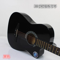 Wholesale 38 inch black acoustic guitar practice piano mass production