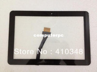 Wholesale original For Samsung Galaxy Tab P7500 P7510 touch screen digitizer white black color by DHL EMS
