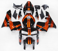 Wholesale Complete Injection Fairings For Honda CBR600RR F5 ABS Motorcycle Fairing Kit Bodywork Motorbike F5 Cowlings Orange Black New